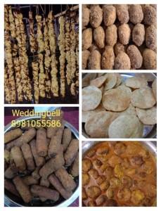 dinner menu idea for bengali wedding and reception