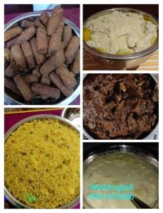 dinner menu idea for bengali wedding and reception2
