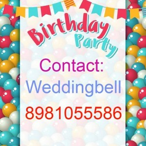 birthday party caterer and organiser in kolkata