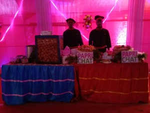 Fuchka and Papri Chart live Counter , Kolkata caterers