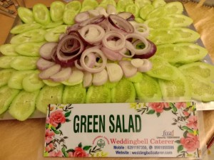 green salad ,caterers at santoshpur, jadavpur, kolkata